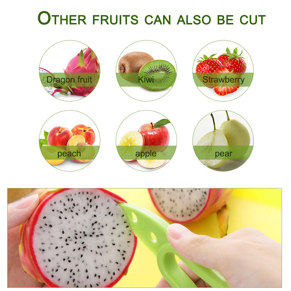 Other fruits can also be cut