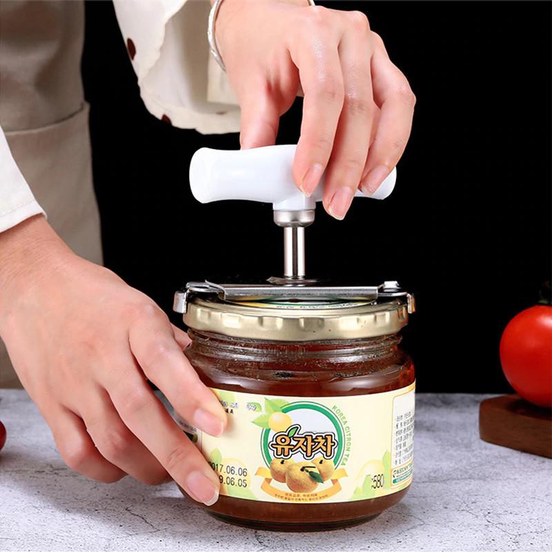 Easy Jar Opener being used on a jar
