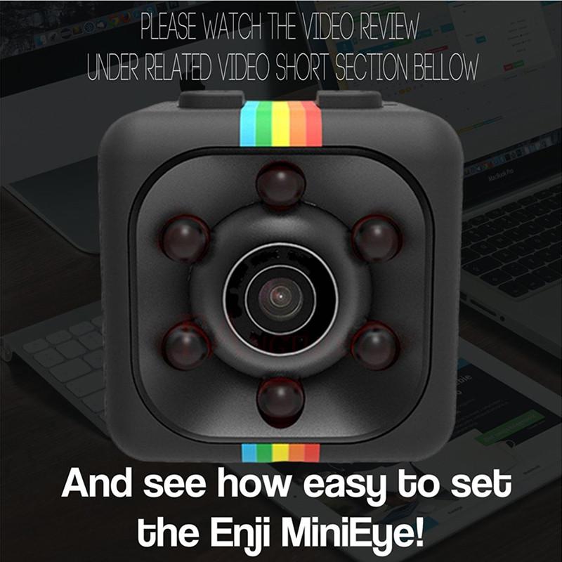 Micro Camera HD 1080P installation 1