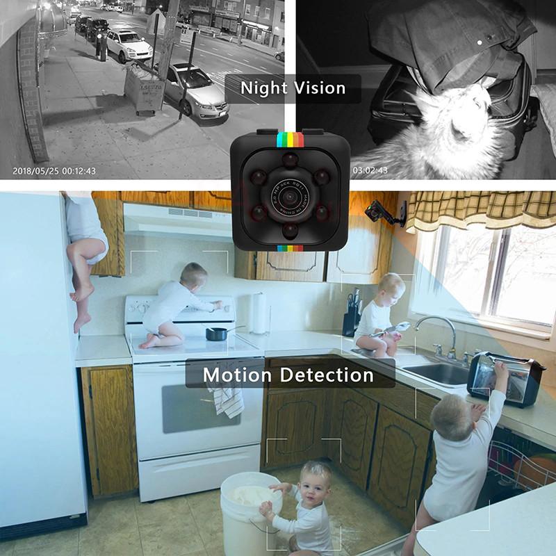 Micro Camera HD 1080P in kitchen