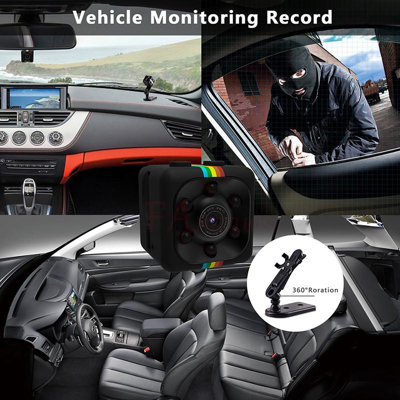Micro Camera HD 1080P in car