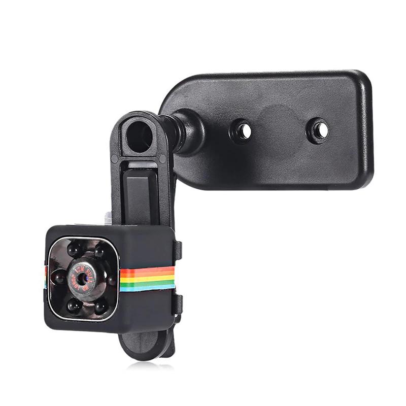 Micro Camera HD 1080P mounted