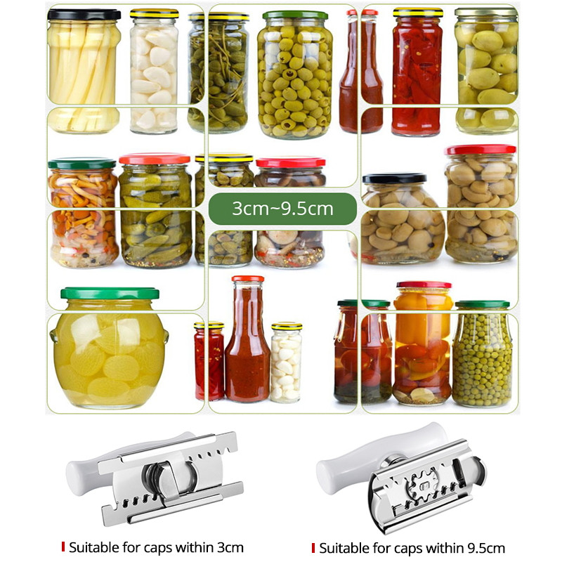 Easy Jar Opener with jars
