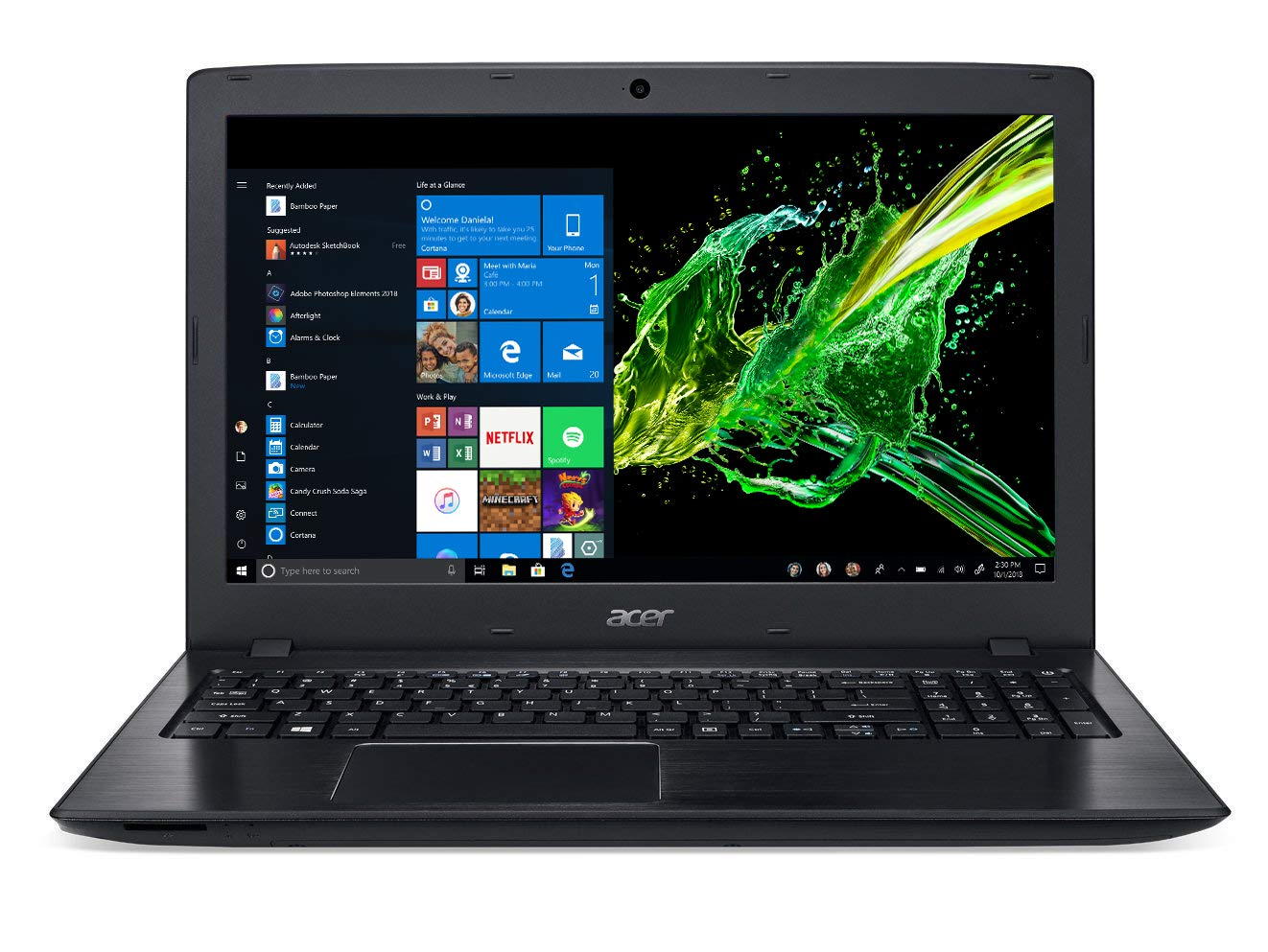 Acer E5-576G-5762 front