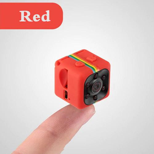 Micro Camera HD 1080P red
