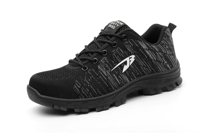 Puncture resistant shoe black